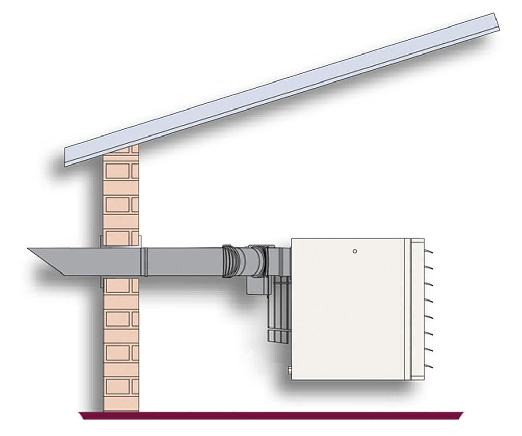 Обеспечение свежего воздуха из внутри помещений