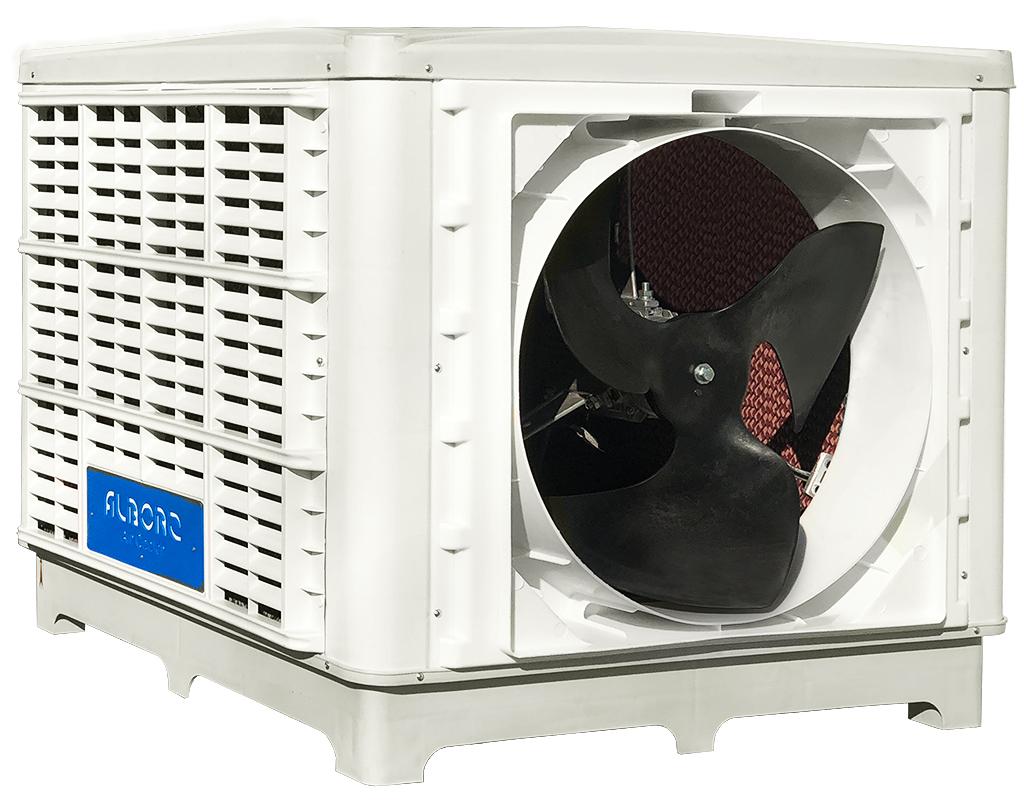 Полимерцеллюлозный испарительный охладитель  в прямом направлении